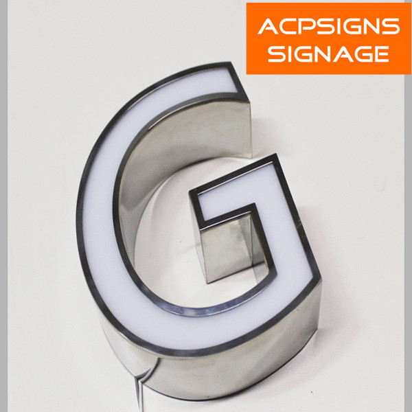 New Customized LED Acrylic Alphabet Letters with Front Lit