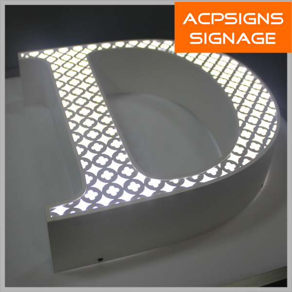 Decorative Frontlit Letter Signs From Kunshan