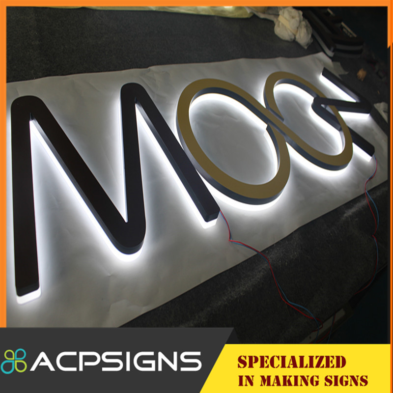Lighting Acrylic Channel Letter Front Lit Letter