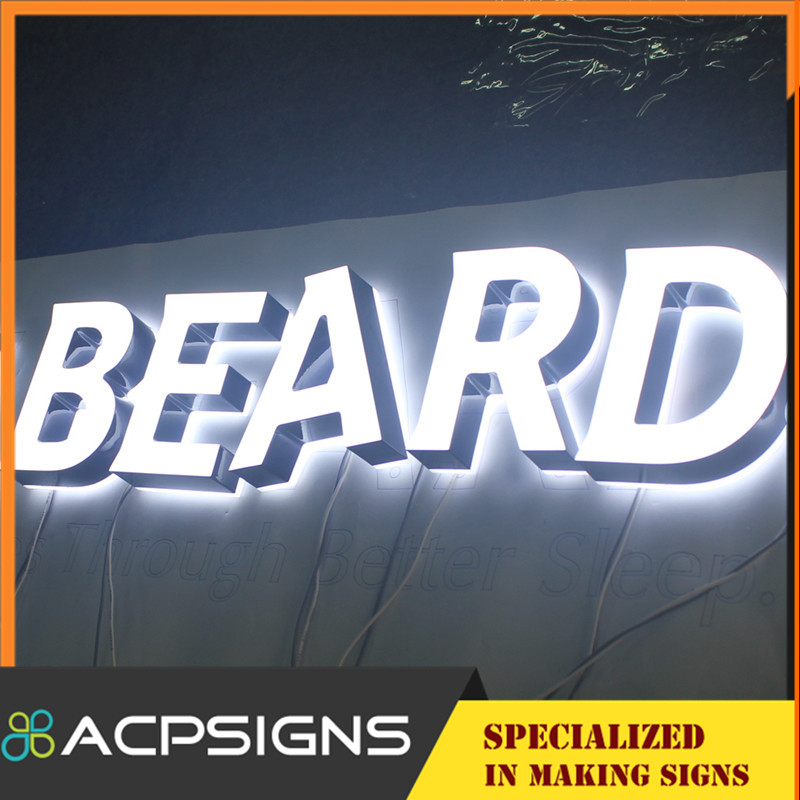Double Sides Light Acrylic LED Signs Letter