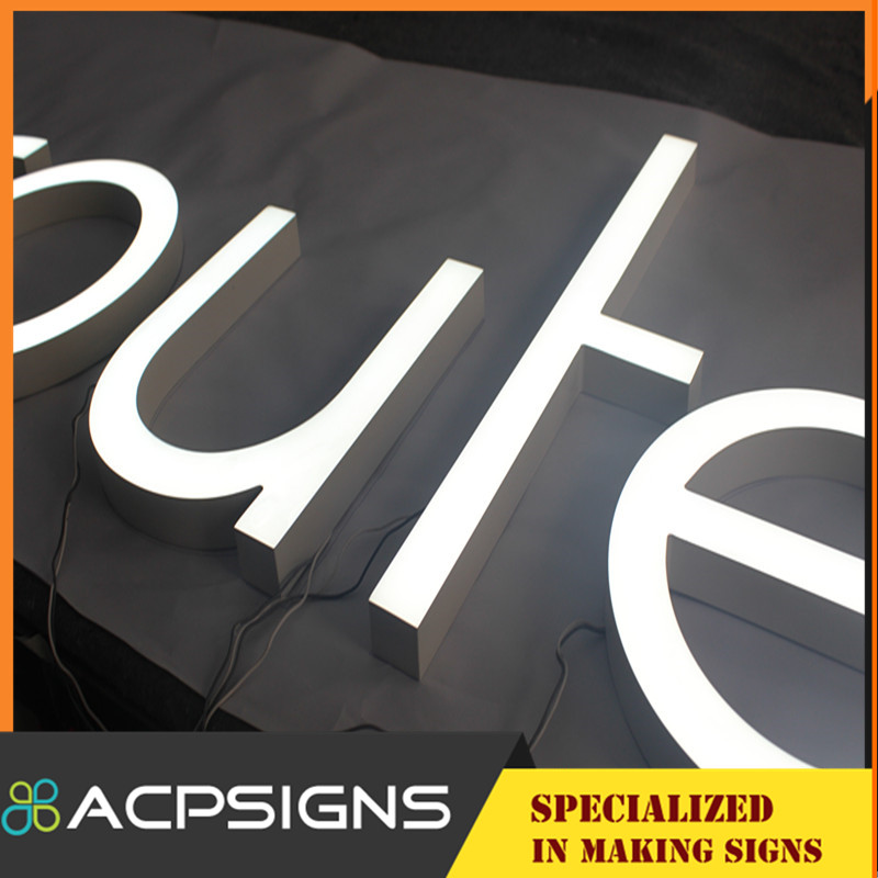 Special Acrylic Double Sided LED Letters