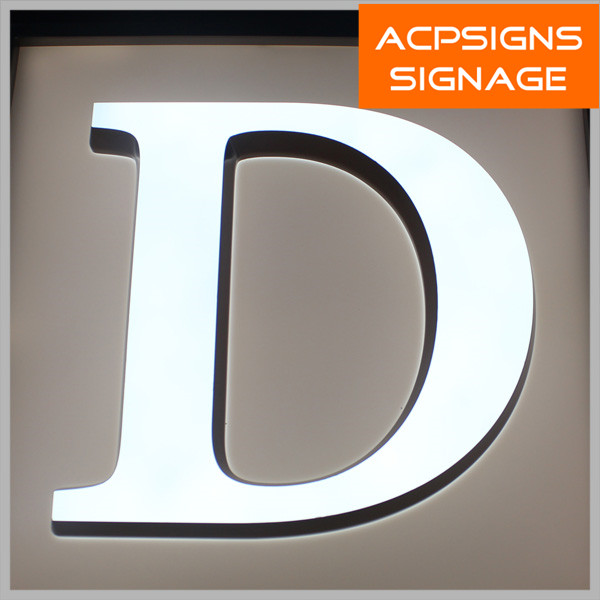 High Luminance Epoxy Resin LED Letters