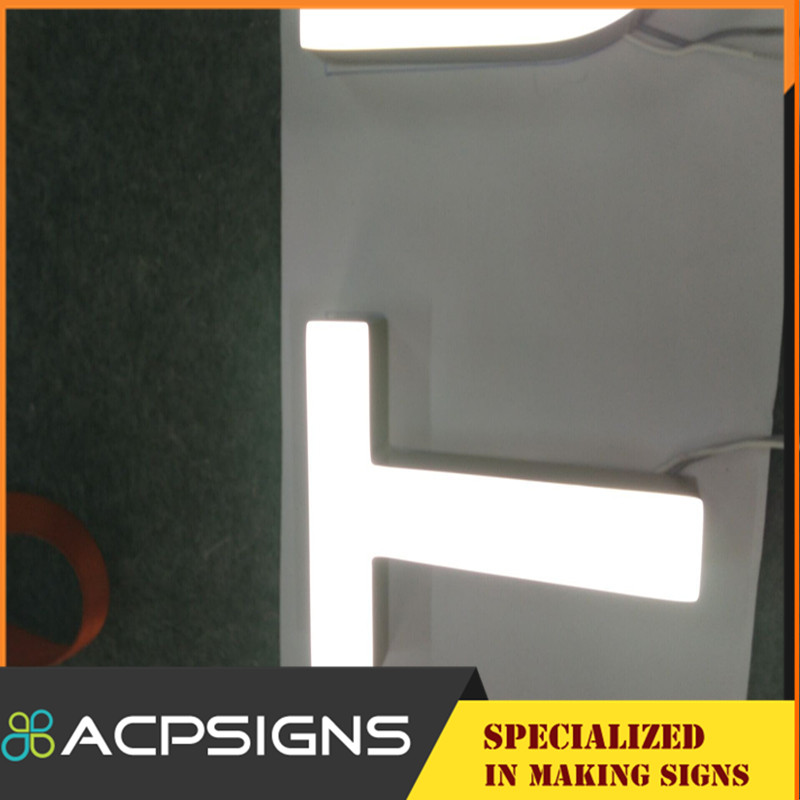 Used Electronic Signs, Acrylic Mini LED Channel Letters