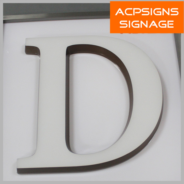CE Approved Acrylic Mini LED Channel Letters Sign