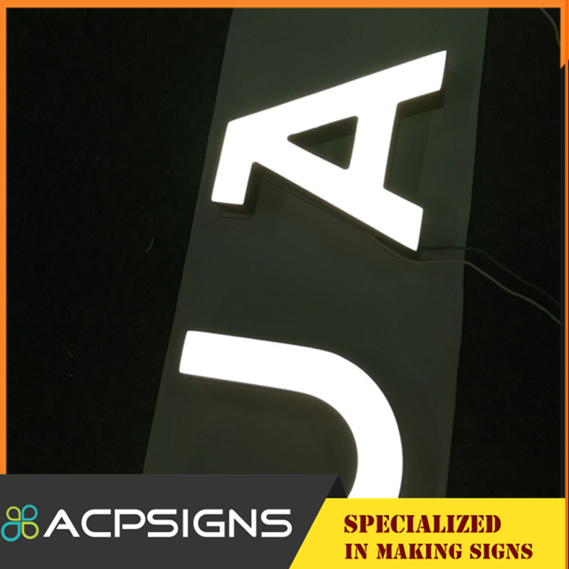 Outdoor or Indoor Letters with LED