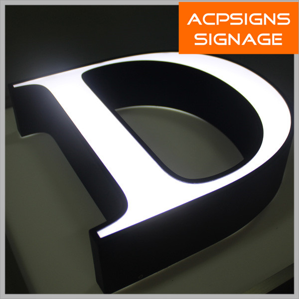 Advertising Signage Front-Lit Acrylic Channel Letters