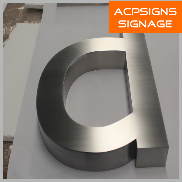 Made in China Sign in Stainless Steel Signs Letters