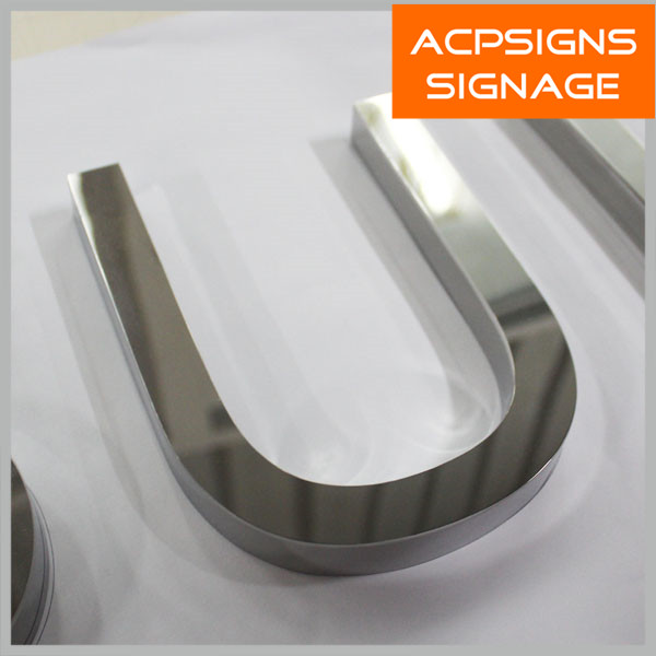 Polished/Mirror Metal Word in Kunshan