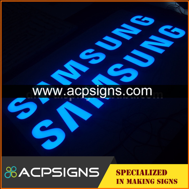 led sign acrylic alphabet letter direct factory