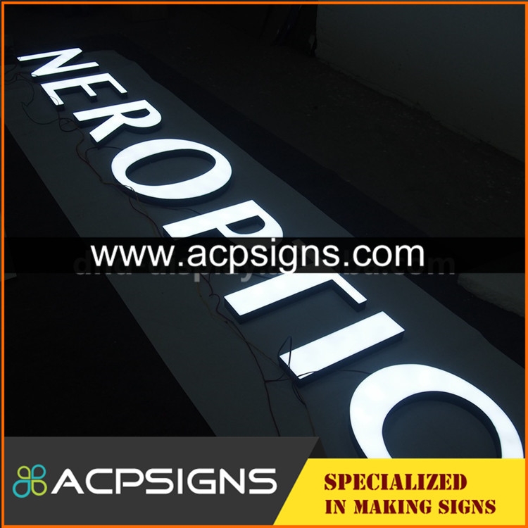 super bright light box energy saving letter sign led channel