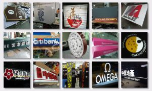 full lighted 3D plastic led letters signs