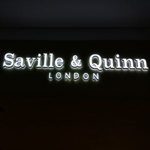 High bright indoor design acrylic led signage indoor signage acrylic