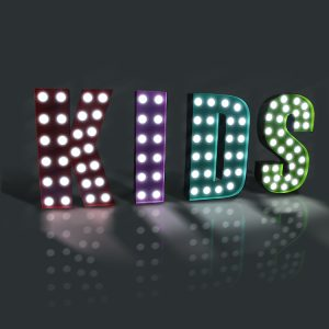 Marquee Light Letters LED Bulb Sign Channel Letter LED Letter Bulb Sign