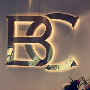 Outdoor Sign LED Luminous Light Letter 3D Backlit Sign Channel Letter