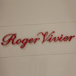 Painted red color custom stainless steel metal letter signage steel signage