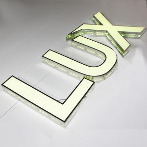 Seven Colors RGB Led Channel Letter Changeable Frontlit Signage Led Sign Letters