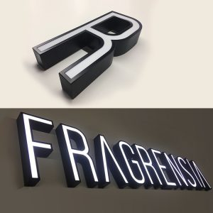 Shop LED Board 3D Facelit Illuminated Lighted Acrylic Channel Letter Sign Light Letters