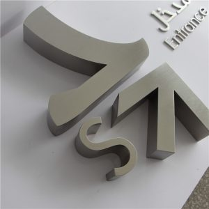 Titanizing Small Metal Laser Cutting Out Stainless Steel Letters Laser Cut Sign and Signage