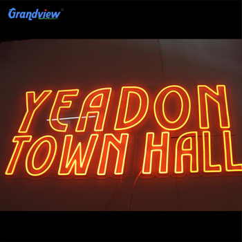 Custom color led neon light decoration signs neon