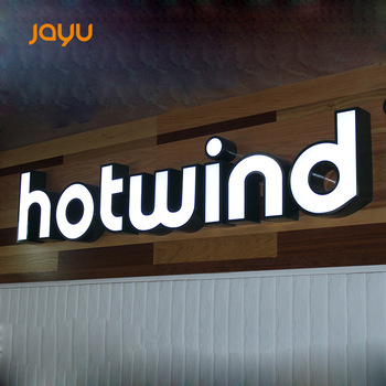Custom Signage Signs Airport Business LED Advertising Outdoor Led Signs For Shop