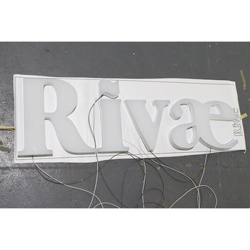 Outdoor 3D Front LED lighting Sign Board Acrylic Lighting Channel Letters