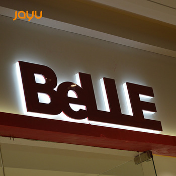 Brand Project Outdoor Round Corner Light Box Acrylic Advertising Backlit Led Shop Signs