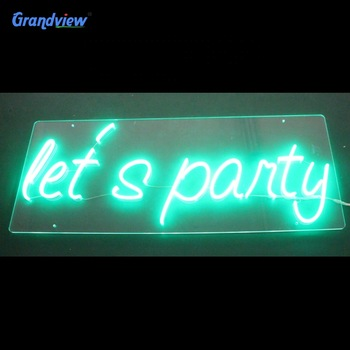 Wall-mounted Custom Neon Sign Letters Led Neon Sign Light Acrylic Led Neon Sign Letters