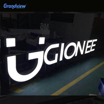 Professional custom made advertising electronic signs acrylic led light letter