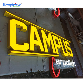 Charming 3d letter sign acrylic led channel letter/store sign led UV letters sign