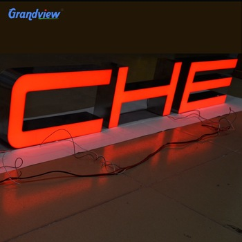 New sign 3d Plastic front lit Acrylic channel Letters Sign