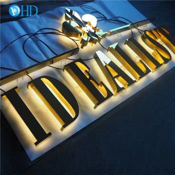 Outdoor store front sign light shop name board designs lighted signs led