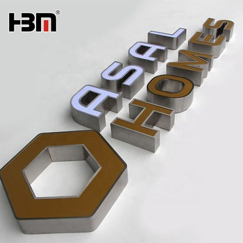 store shop signage Letters 3D Led Acrylic Channel Letter Signs Led Sign