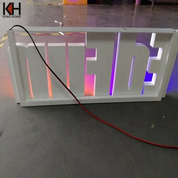 Restaurant Letters Shop Signage Led Signboard Outdoor Sign Store Front Signs