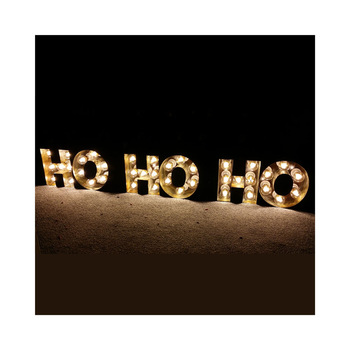 Led lighted up alphabet LOVE letter sign marquee lighting decorative metal letters marquee letters