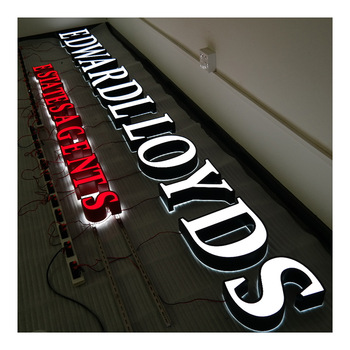 Waterproof Led Acrylic Letters Sign Acrylic Plastic Channel Letters for Decoration