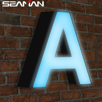 outdoor advertising equipment stainless steel acrylic letter