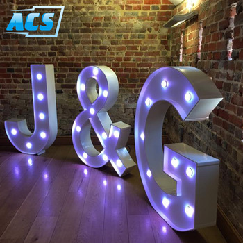 outdoor large led letters with lights Alphabet Letter led letter sign