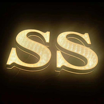 Chinahoo Soldering signage decoration cheap 3d back light channel letter sign