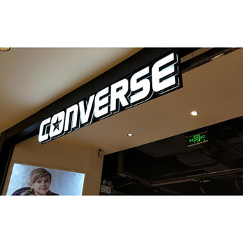 Double facelit  letters store front led lights sign led sign panel outdoor signs advertising outdoor