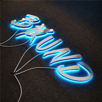 Factory Direct Customized LED Alphabet Letter Singage Backlit LED Letter Sign