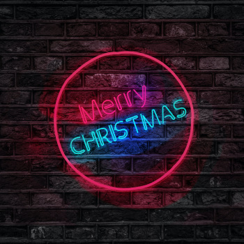 Wholesaler Battery Powered LED Neon Sign Christmas Decoration Flexible Neon Sign