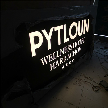 Custom Waterproof Led Illuminated Outdoor Frontlit Light Channel Letters Sings Store Front Led Signs