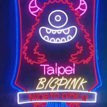 Chinese factory custom neon night logo light signage with prices