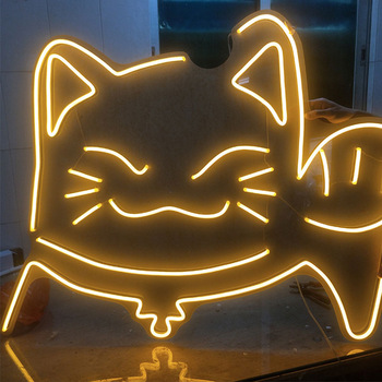 Hot sale waterproof acrylic neon sign wall vintage led mounted white plastic with best quality