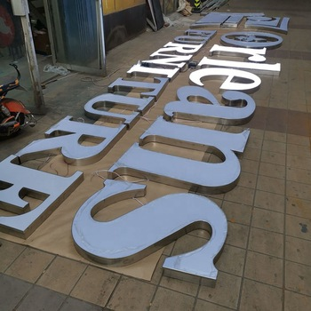 Outdoor large led signs for shopping mall and shopfront