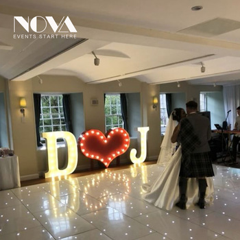Customized Wedding Letters Love Marquee Signs Bulb Letter Sign