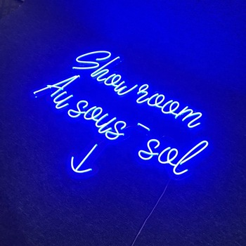 Yiwu Yuanfang high quality safe voltage flex neon sign custom led neon light advertising sign
