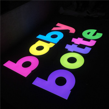 Frontlit Led Logo Customized Outdoor Advertising Acrylic 3D Wall Letter logo Sign