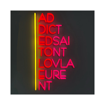 Wholesale Frontlit Advertising acrylic neon letter sign neon it was all outdoor led pizza
