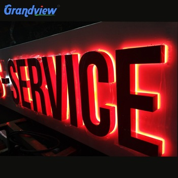 3D Outdoor Electronic Illuminated Led Channel Letter Signs